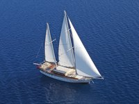 Hop aboard this sail boat for a great experience in Bodrum !