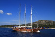 Enjoy the beauty of Bodrum on board our luxurious sail boat charter