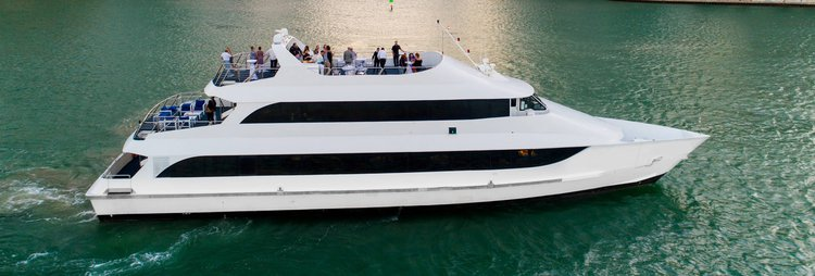 Enjoy luxury and comfort onboard one of the most beautiful yachts in Miami