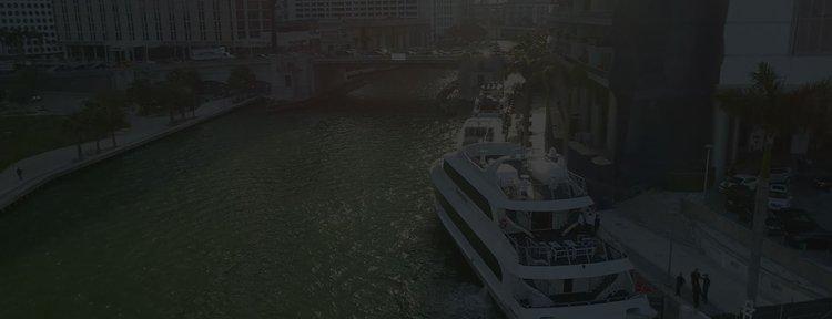 Mega yacht boat rental in Miami, FL