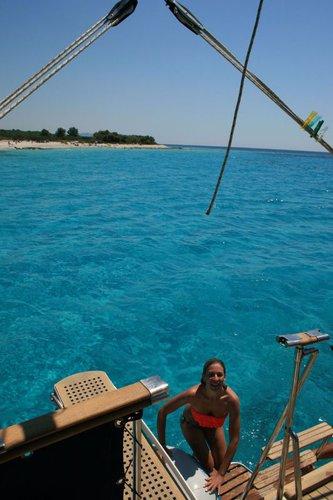 Motor yacht boat for rent in Zadar region