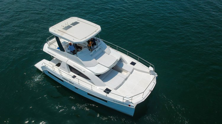 Relax and have fun on this gorgeous catamaran charter