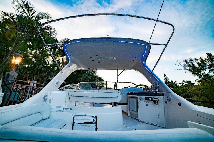 Discover Miami surroundings on this 3860 Regal boat
