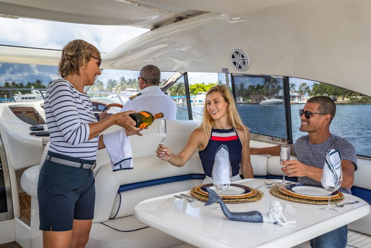 Discover Miami surroundings on this Predator Sunseeker boat
