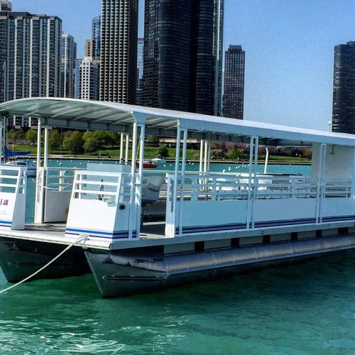Charter this wonderful pontoon for a perfect party on water!