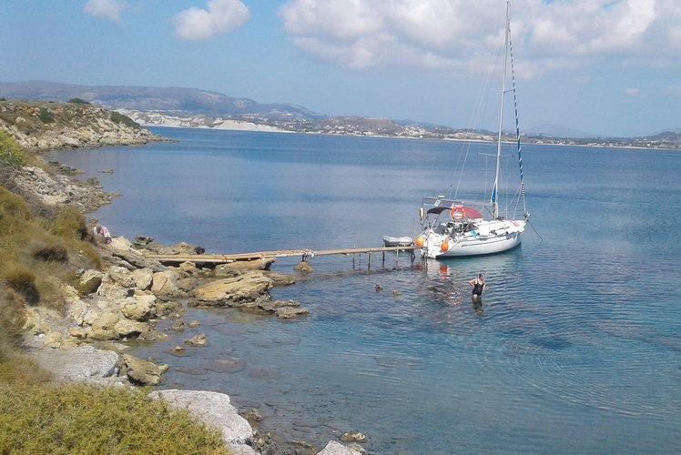 Discover Argostoli surroundings on this Cruiser 34 BAVARIA boat