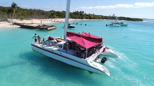 Have fun in the sun on this catamaran charter