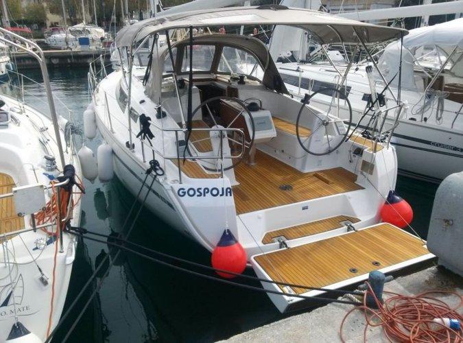 Rent this Bavaria Yachtbau Bavaria Cruiser 37 for a true nautical adventure