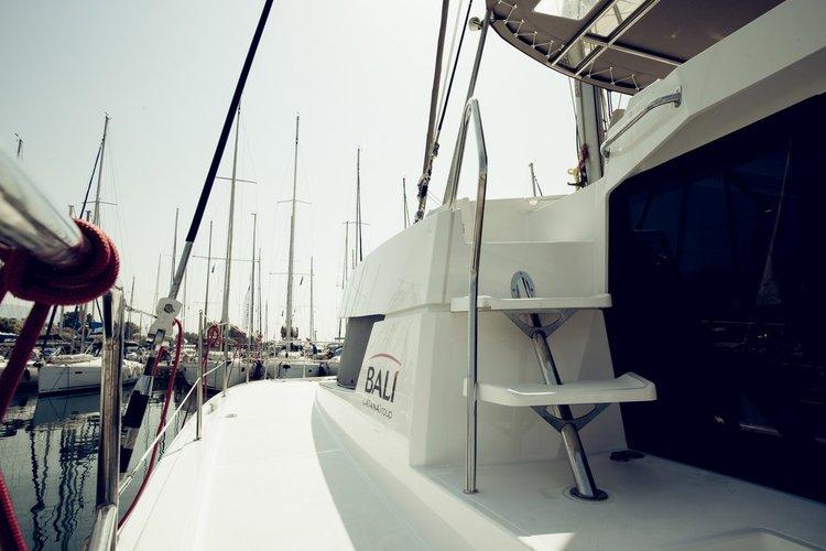 Catamaran boat rental in Lefkas - Marina Lefkas, Greece