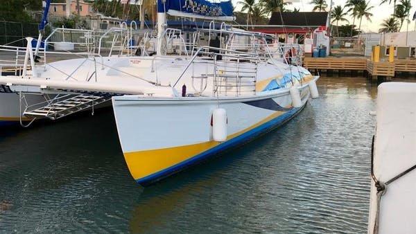 Boating is fun with a Catamaran in Fajardo