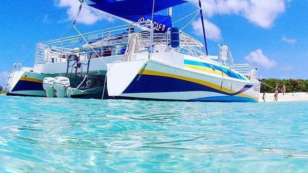 Have fun in the sun onboad the beautiful sail catamaran in Puerto Rico