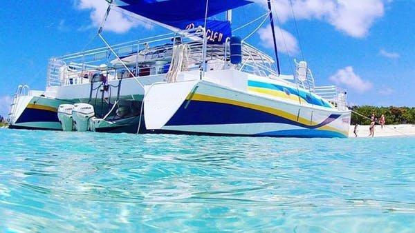 Have fun in the sun onboad the beautiful sail catamaran in Puerto Rico