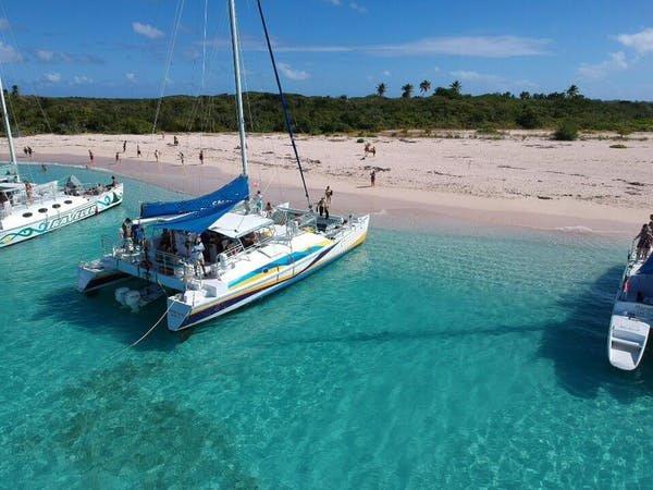 Catamaran boat rental in Fajardo, Puerto Rico