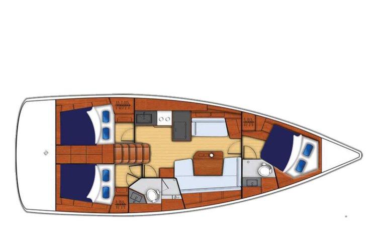 Monohull boat rental in St. Lucia - Rodney Bay Marina, Martinique
