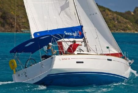 Beautiful 45 ft sail boat for rent, ideal for fun in the sun in St. Lucia