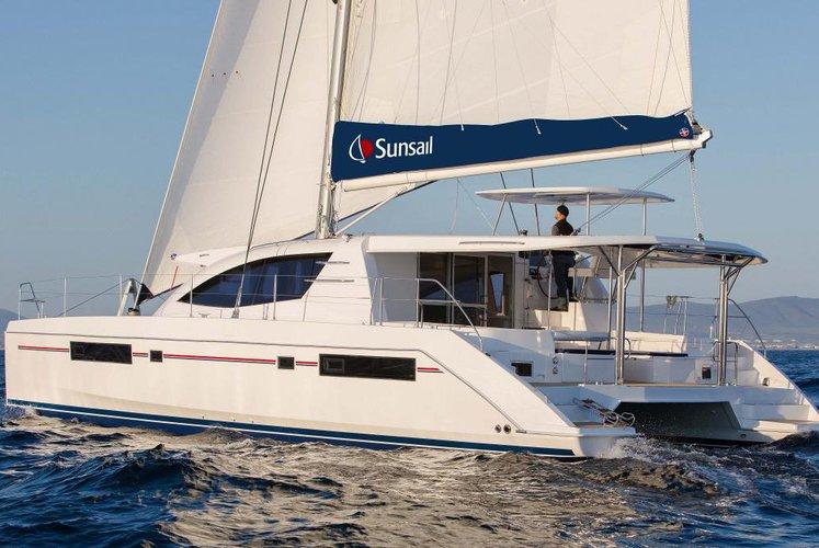 Soar Across the Caribbean on this Catamaran!