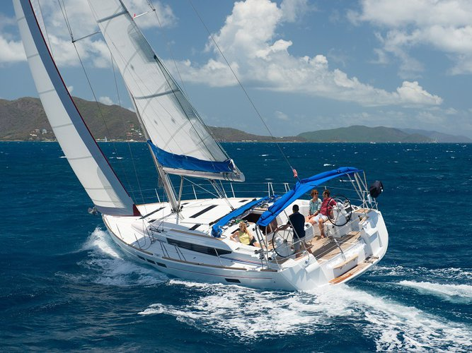 Discover St. Martin in style on this luxury sailboat rental!