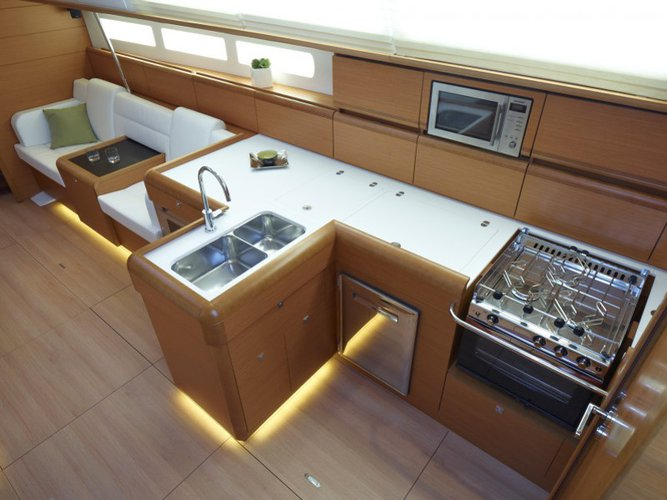 Monohull boat for rent in Gros Islet