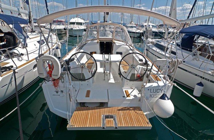 Experience Split region on board this elegant sailboat