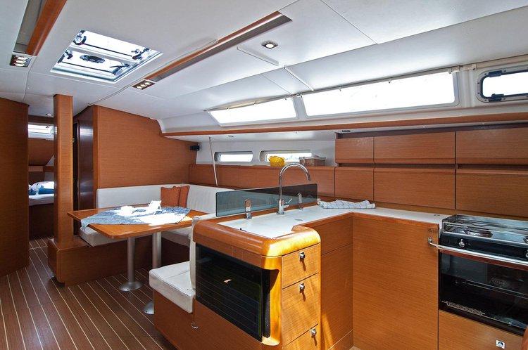 Discover Split region surroundings on this Sun Odyssey 439 Jeanneau boat