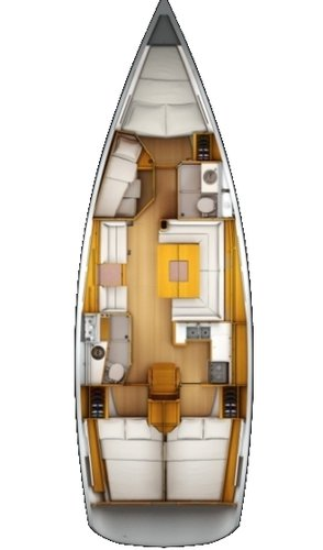Boat for rent Jeanneau 43.0 feet in Marina Dalmacija, Sukosan, Croatia