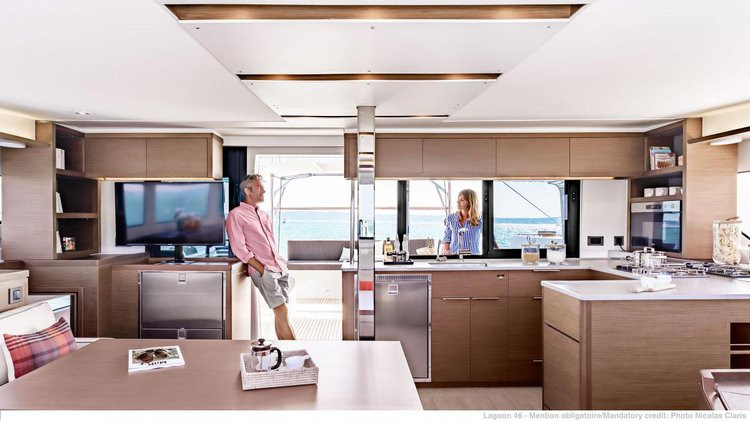 Rent this catamaran for a true sailing adventure