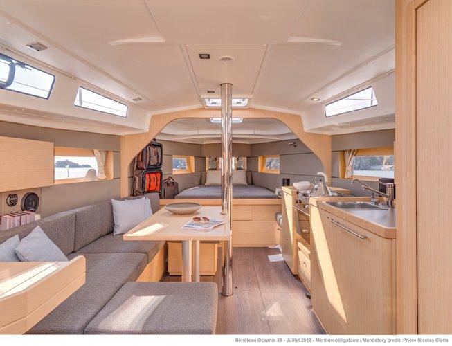 Boat for rent Oceanis 38.0 feet in Sardinia, Italy