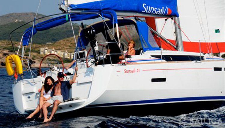 Take this awesome Monohull boat for a spin!