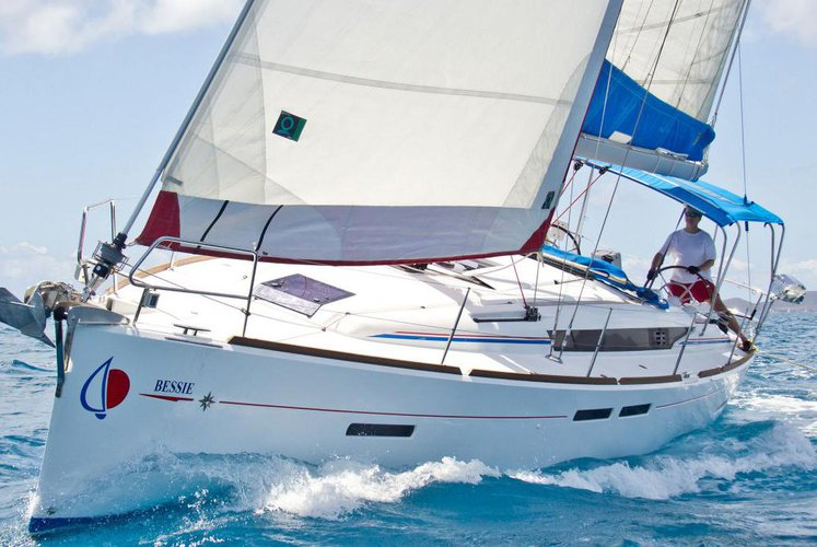 Experience sailing on  this sail boat charter!