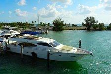 80' Ferretti  Magical ride in Miami beach!