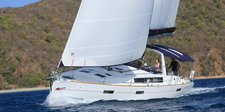 Sail the waters of Tortola on this comfortable Custom 45.3