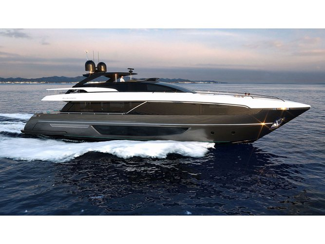 Rent this  Riva Corsaro 100 for a true nautical adventure