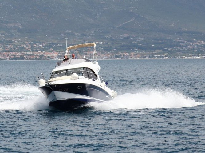 Explore Split on this beautiful motor boat for rent