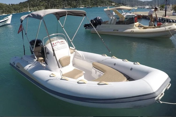 Have fun in the sun on this Greece motor boat charter