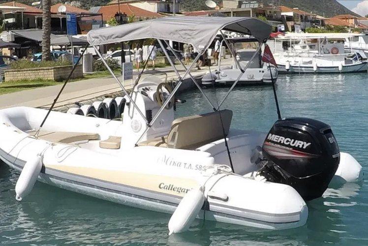 Boat for rent Callegari 16.0 feet in Nydri Port, Greece