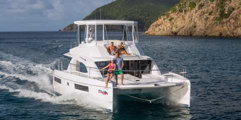 Mesmerizing holidays in Mallorca aboard this Power Catamaran