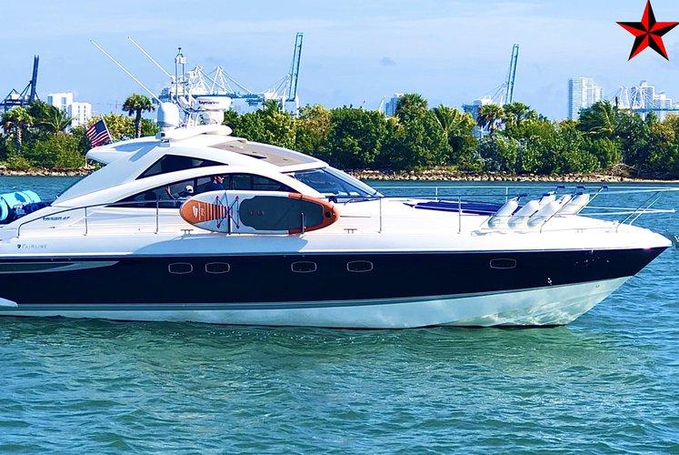 ** Miami Cruise - 50 Ft Italian Sport Cruiser Yacht **