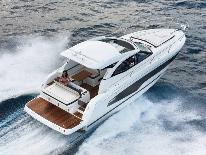 Explore Salerno on this beautiful motor boat for rent