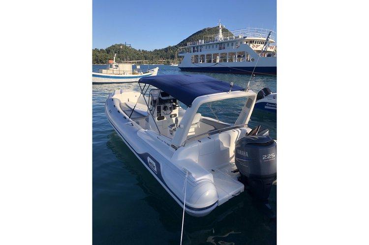 This 24.5' MARCO cand take up to 10 passengers around Nydri - Lefkada