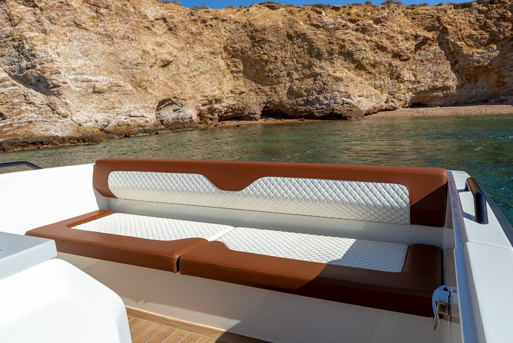 Motor boat boat rental in Agios Kosmas Marina, Greece