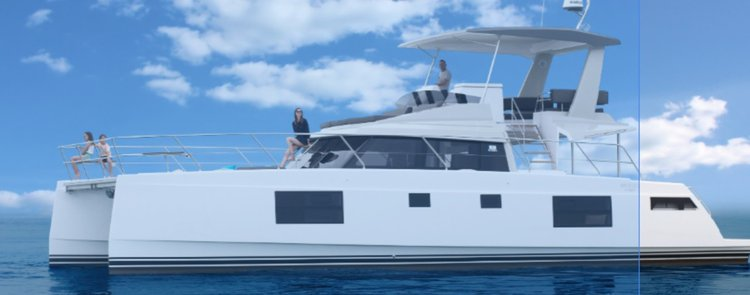 Everything is All Good in this  New Nautitech 47 Catamaran for your ideal Bahamas Holidays!
