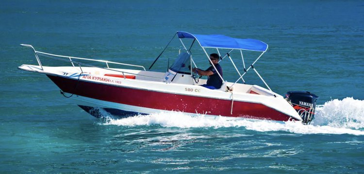 Boat for rent OLYMPIC 19.0 feet in Nydri Port, Greece