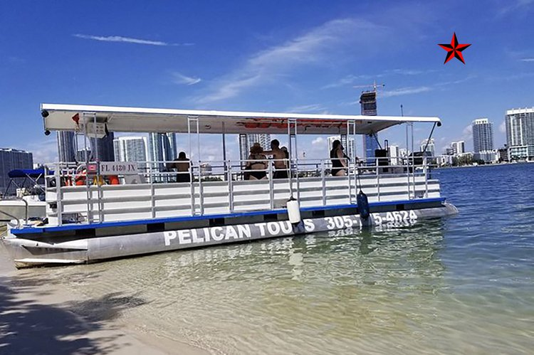 ** Miami Cruise - 35 Ft Party Pontoon **