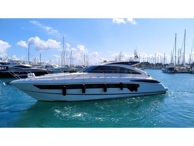 Enjoy luxury and comfort on this Corfu motor boat charter