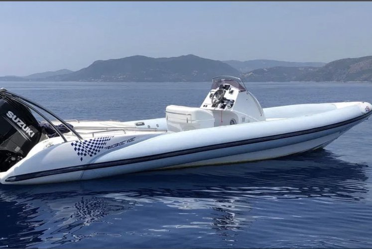 Discover Nydri - Lefkada surroundings on this 9.30 RIBEYE boat