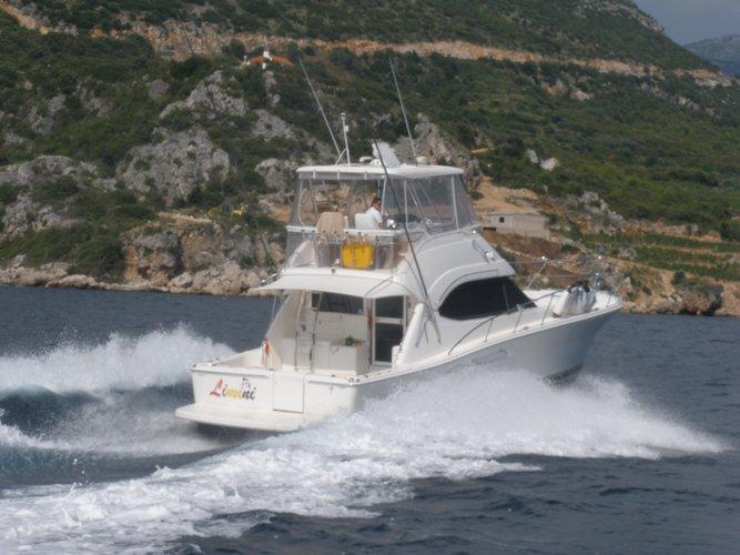 Enjoy luxury and comfort on this Split motor boat charter