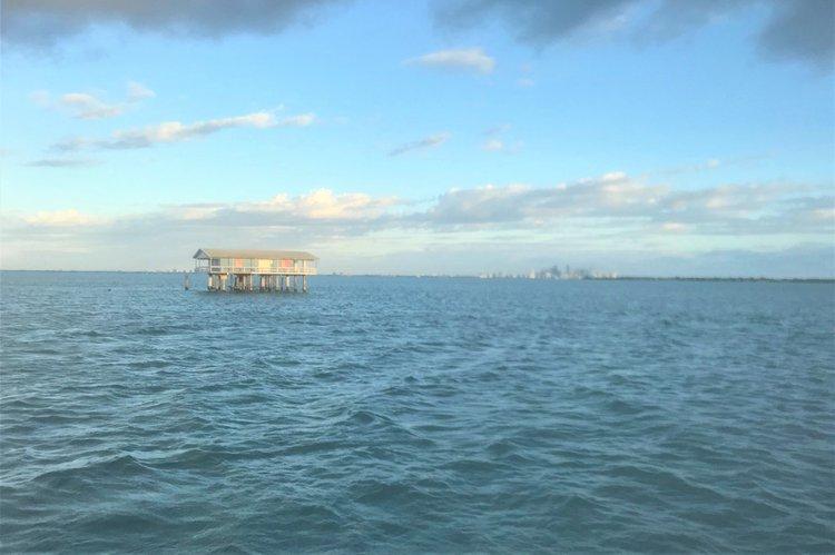 This 50.0' Sea Ray cand take up to 10 passengers around Miami Beach