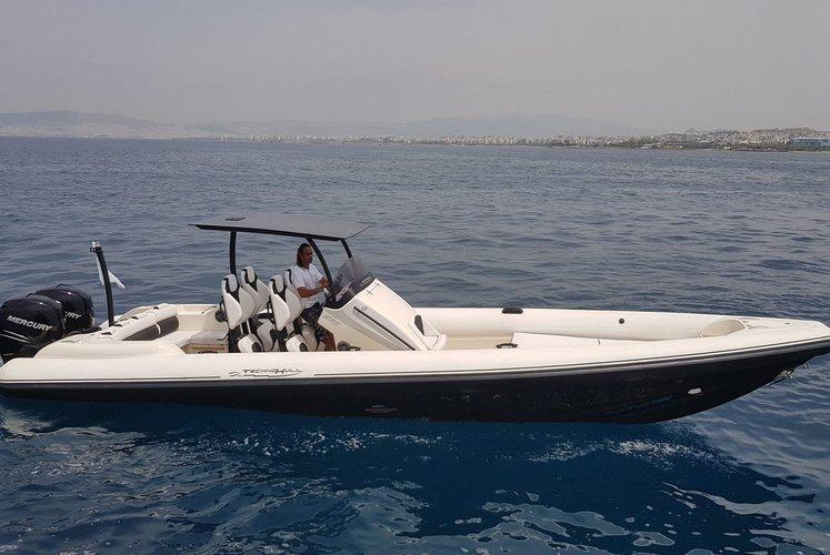 Boat for rent Technohull 32.97 feet in Agios Kosmas Marina, Greece