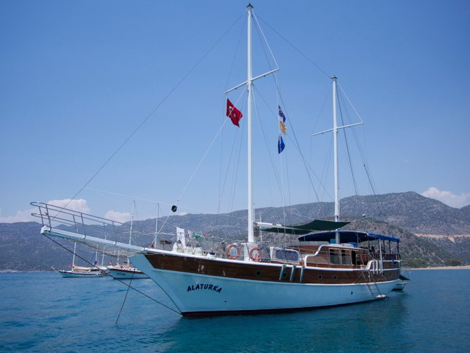 Enjoy luxury and comfort on this  Gulet - Alaturka 1 in Fethiye