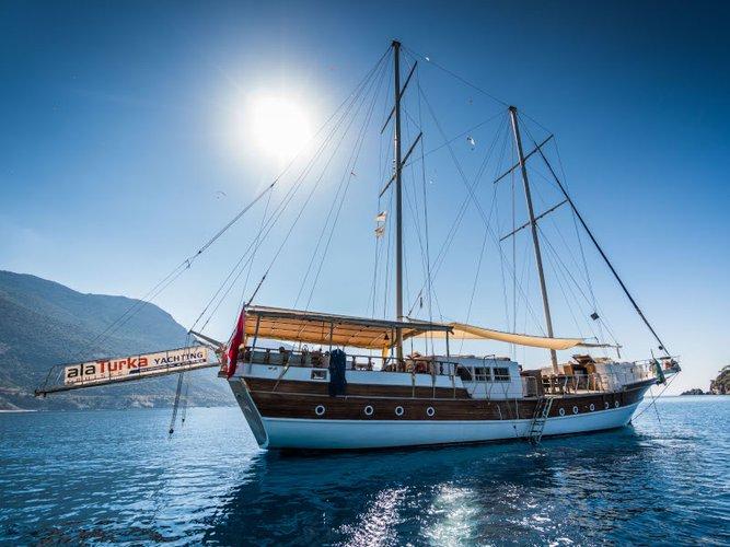 Sail Fethiye, TR waters on a beautiful  Gulet- Alaturka 81